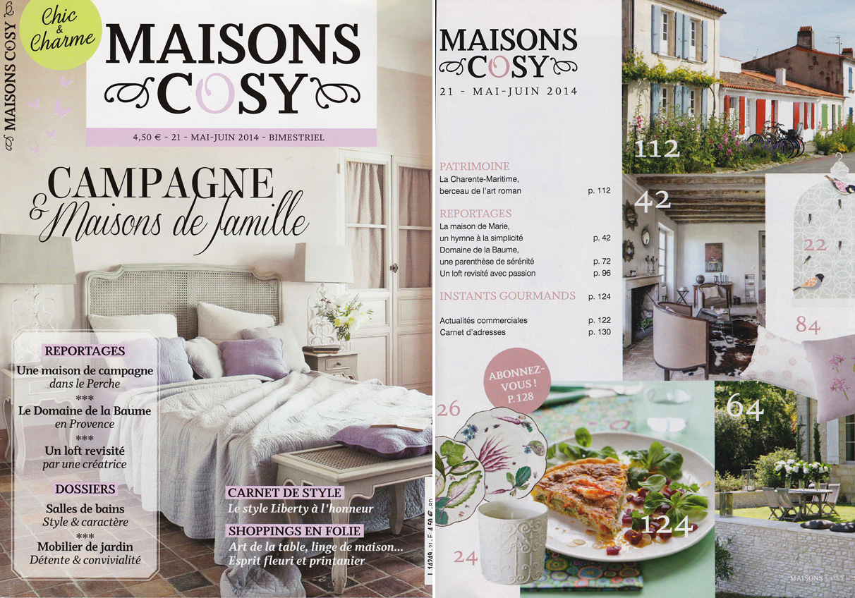 """Maison Cosy"" – Mai / Juin 2014"