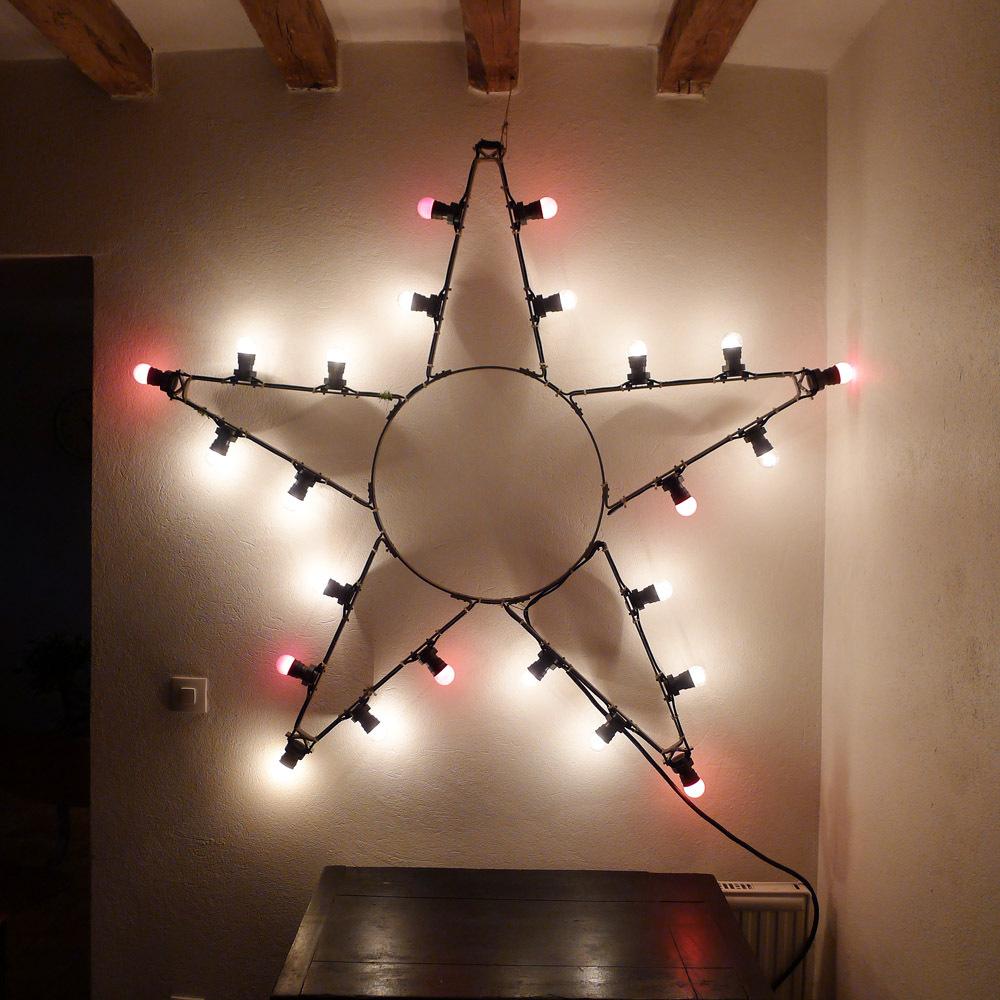 etoile lumineuse vintage la star chez les voisins. Black Bedroom Furniture Sets. Home Design Ideas