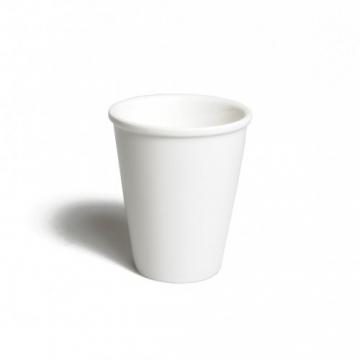 Gobelet blanc en porcelaine