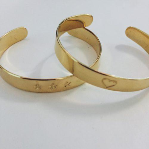 Bracelet en laiton gravé enfant – CHEZ les VOISINS