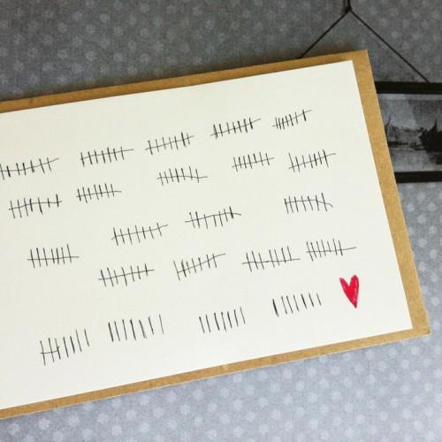 Carte postale LOVE