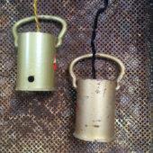 suspension ou baladeuse gaz à tous les étages de chez les voisins, style industriel