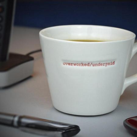 tasse ou mug Keith Brymer Jones en porcelaine blanche
