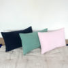 coussin en lin rectangle 40x60cm