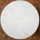 Présentoir en marbre, plateau