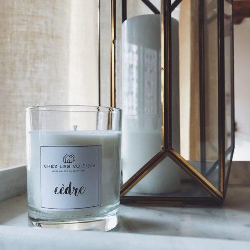 Bougie parfumée – CHEZ les VOISINS