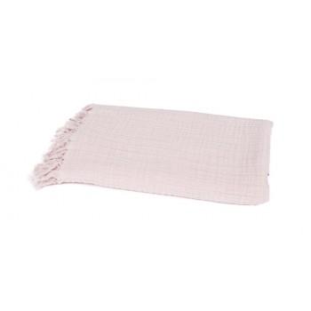 plaid lin et coton, couvre lit, étole
