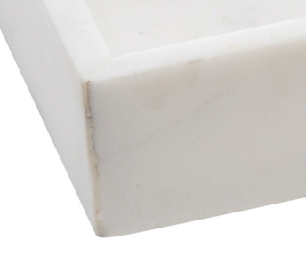 plateau en marbre blanc Madam Stoltz