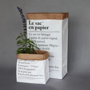 sac en papier Be Poles