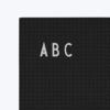 letter board, tableau message ou message board édité par Design Letters.