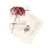carte postale LOVE hortensia cinq mai