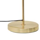 Lampe de bureau en laiton brossé