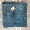 serviette en lin lavé couleur bleu de prusse