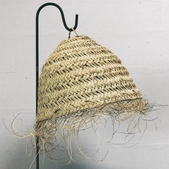 suspension en fibre naturelle dome