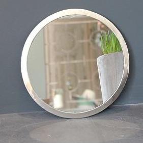 miroir rond chez les voisins