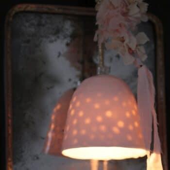 Lampe M gros pois – Myriam Ait Amar