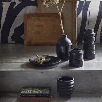 Vase en argile noir – Chulucanas