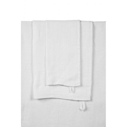 serviette-essuie-mains-blanc