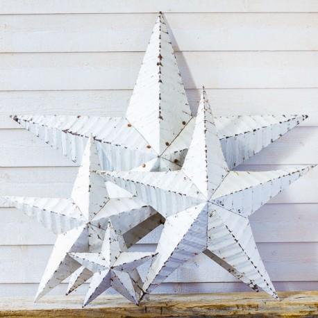 étoile_Amish_en_métal_de_couleur