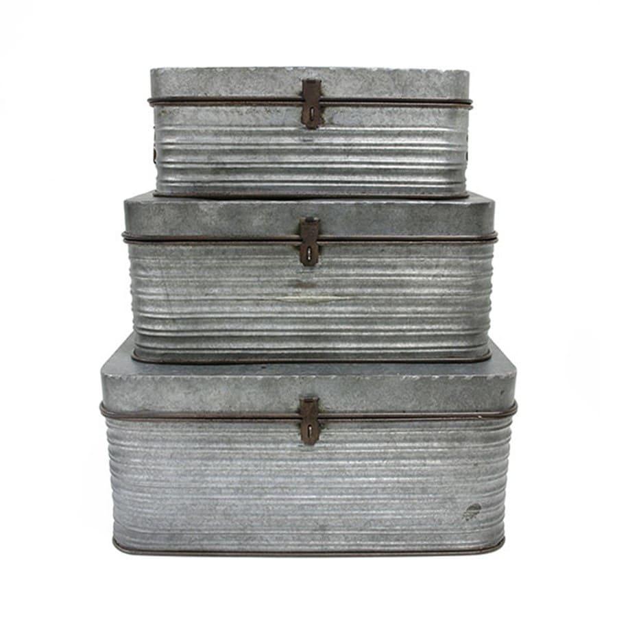 Boîtes de rangement en métal | CHEZ LES VOISINS