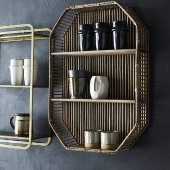 Etagère en bambou rectangle