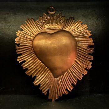 Coeur Durga en or antique – Boncœurs