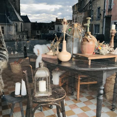Boutique de décoration et brocante à Bellême dans le Perche
