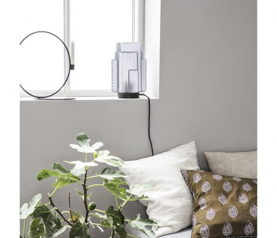 lampe blocks en verre et metal retro House doctor