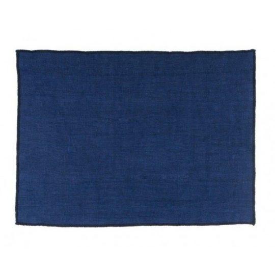 set de table indigo lin harmony textile