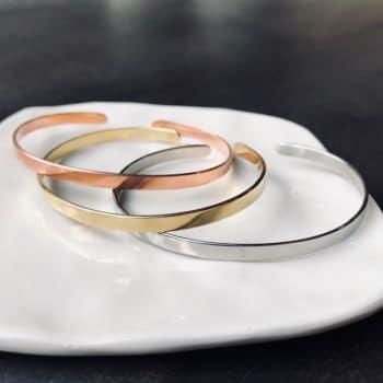 Trio de bracelets en métal – CHEZ les VOISINS