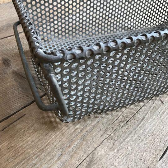 casier en métal empilable vintage industrie