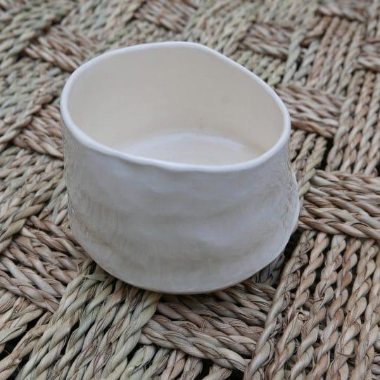 petit bol blanc