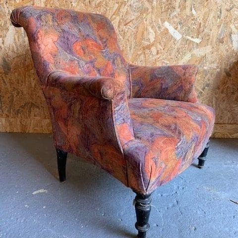 fauteuil vintage profil
