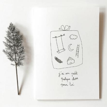 carte postale de Papillon Papillonnage