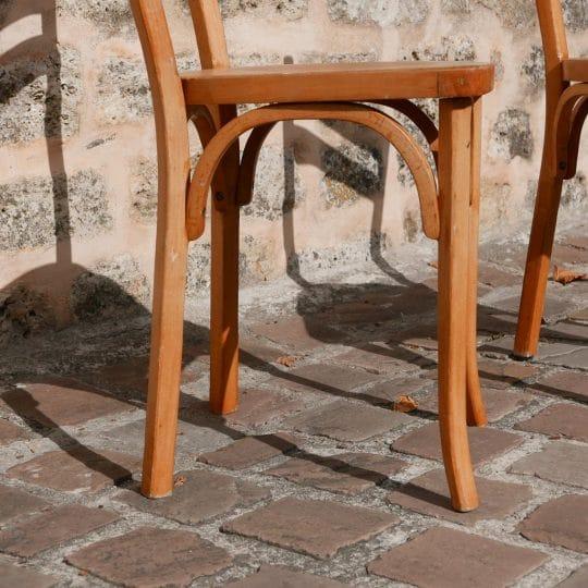 Chaise baumann ancienne