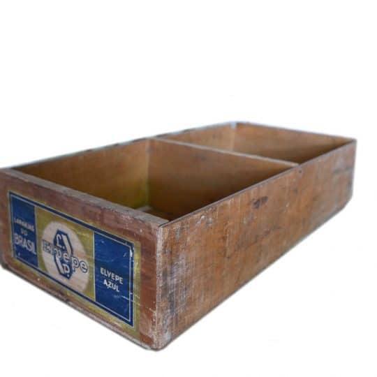 boite en bois etiquette