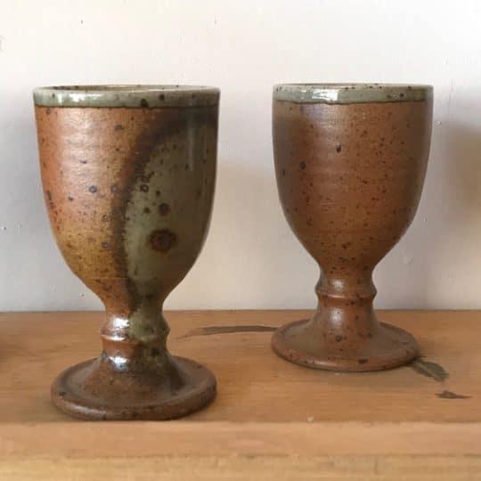 tasse en grès vintage