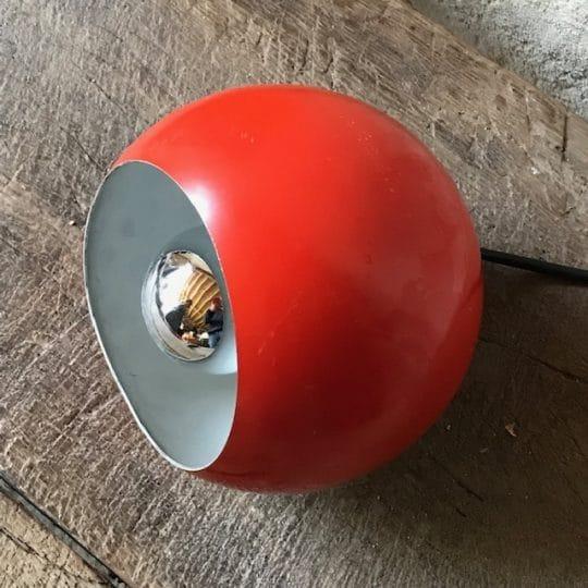 suspension boule orange