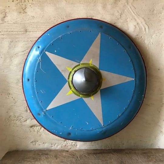 bouclier abraracourcix vintage