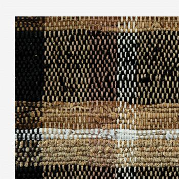 tapis cuir jute détail madam stoltz
