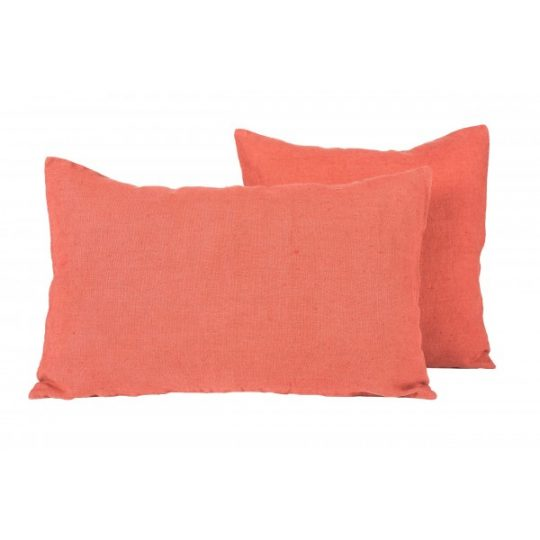coussin lin propriano harmony argile rouge