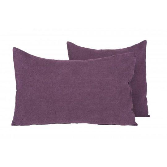 coussin lin propriano harmony purple violet