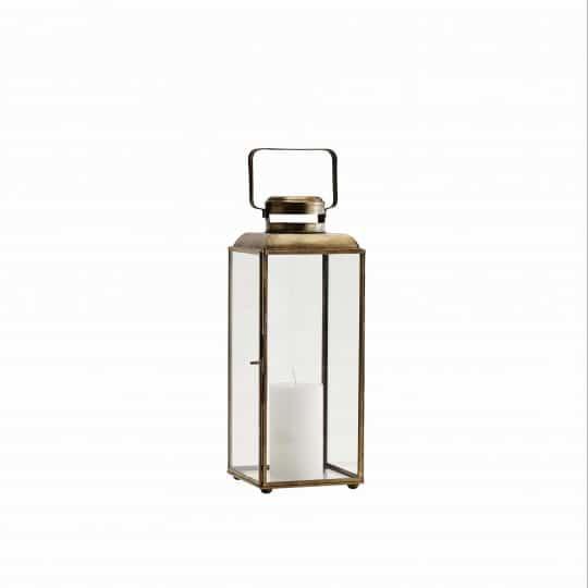 lanterne métal verre laiton antique madam stoltz