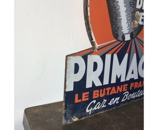 Ancienne plaque en métal vintage
