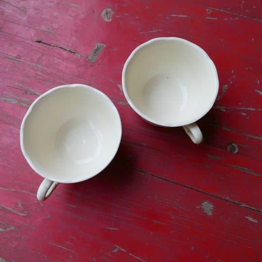 Vaisselle Sarreguemines tasses
