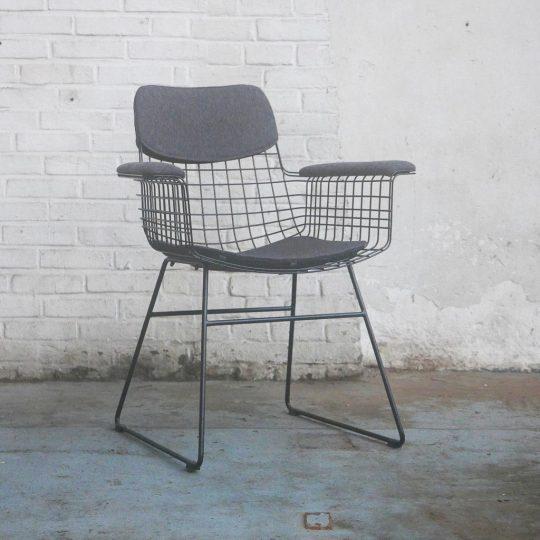 fauteuil en metal noir confort