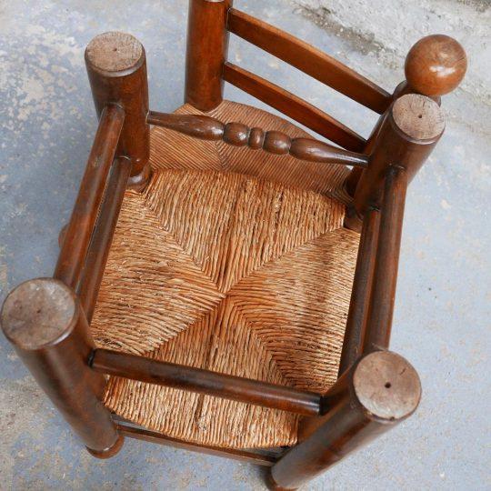 chaise petite paillée original