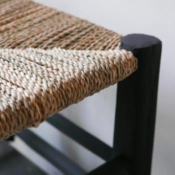 Tabouret marocain à assise large