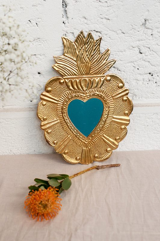 miroir theresa gold