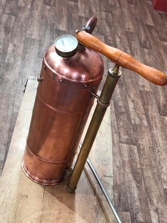 Pulvérisateur en cuivre affaire conclue